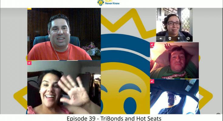 Tribonds and hot seats