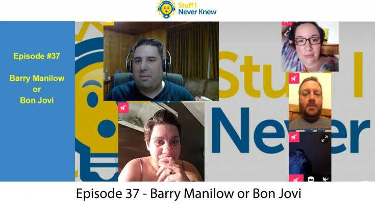 Barry Manilow or Bon Jovi Trivia Show
