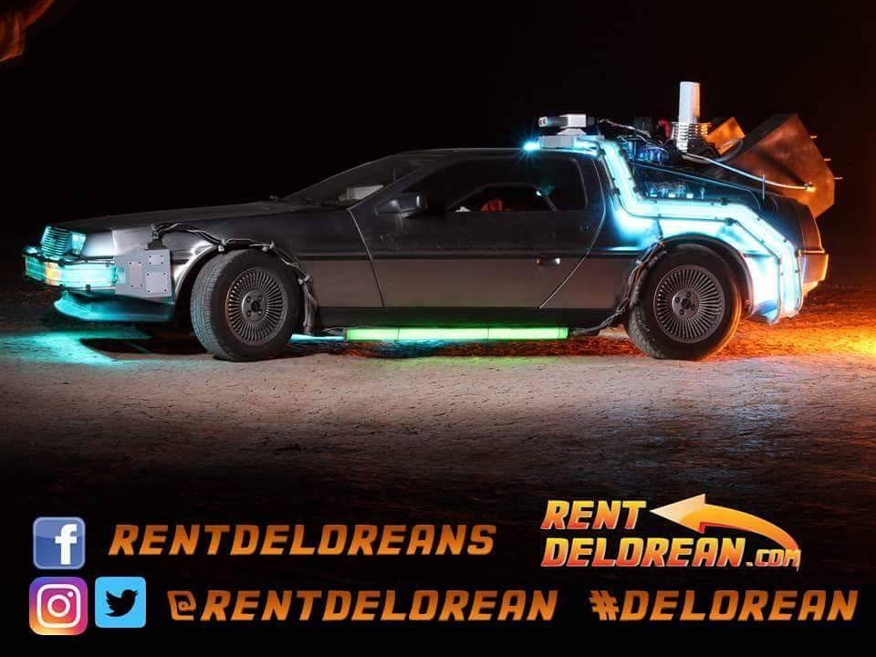 Rent Delorean Trivia Game Show
