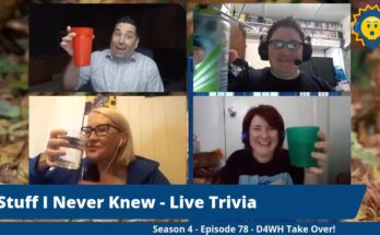 Trivia night with the D4WH Podcast