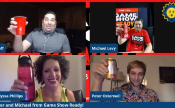 Game Show Ready joins me to play 3 rounds of trivia